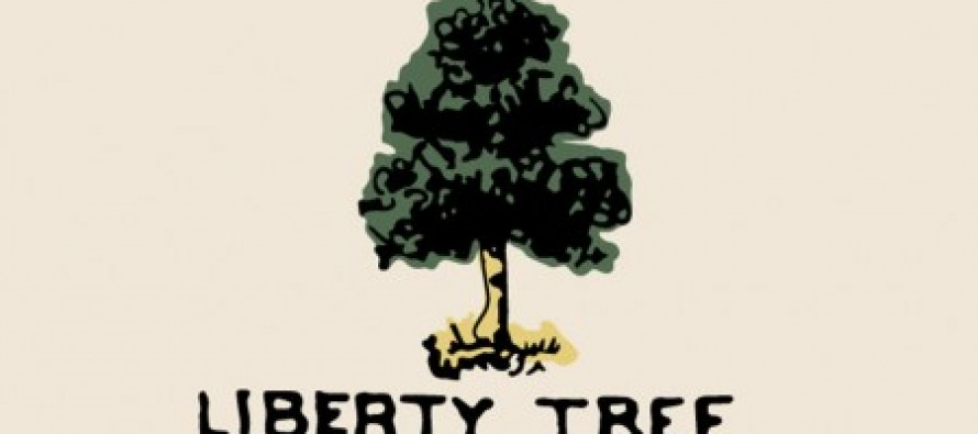 Please download the FREE app Liberty Tree on your phone