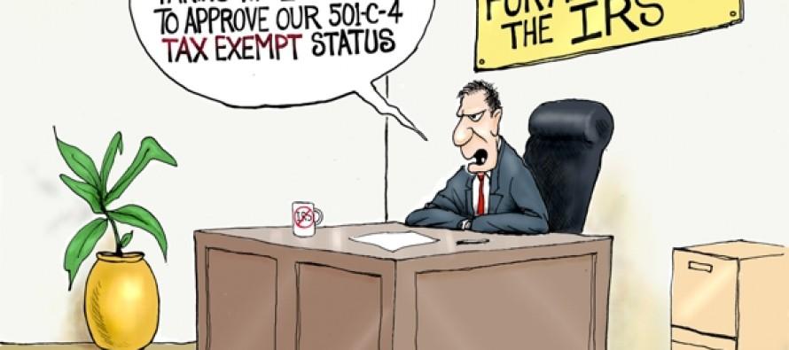 Tax Exempt Delay (Cartoon)