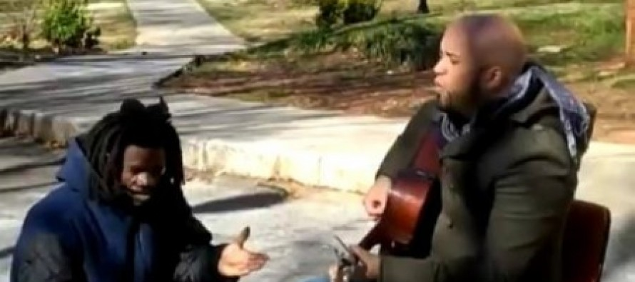 AMAZING VIDEO: Homeless Man Crashes Christian Singer's Music Video and What Happens Next Is Amazing