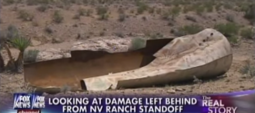 WRECKAGE:  BLM Trashed Bundy Ranch, Ran Over Endangered Tortoise Den (Video)