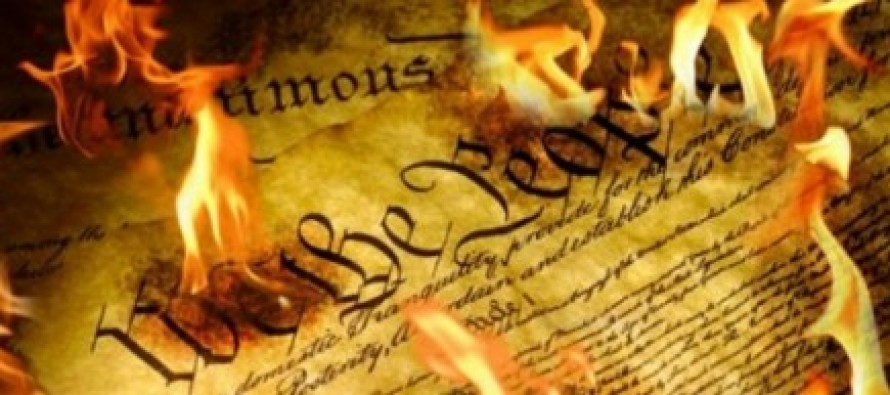 University Students Forbidden by Administration From Handing Out US Constitution