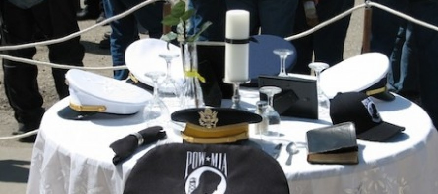 Air Force removes POW/MIA 'Missing Man' table because it includes a Bible