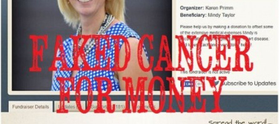 35 Yr-Old Woman Fakes Cancer & Cons Hometown, Mother & Husband Out of $20,000 of Donations