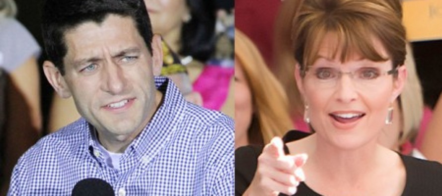 "Sarah Palin: Paul Ryan's ""We'll Increase Spending Now, Cut Spending Later"" Budget Is A Joke"