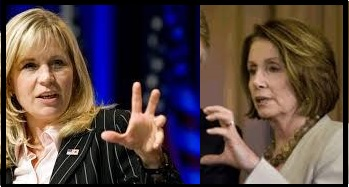 Pelosi Cheney claws