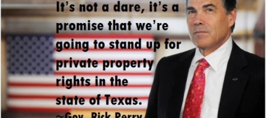 'It's Not a Dare, It's a Promise': Gov. Rick Perry Warns Feds Over Concerns of New Land Grab in Texas