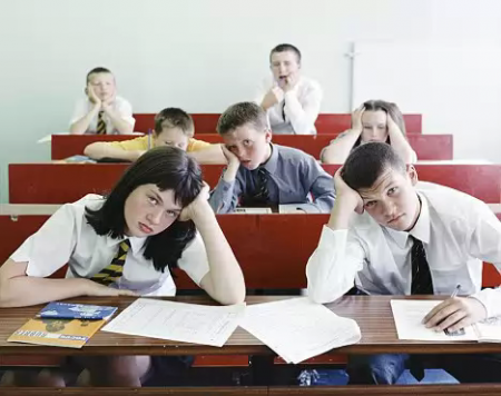 Students bored