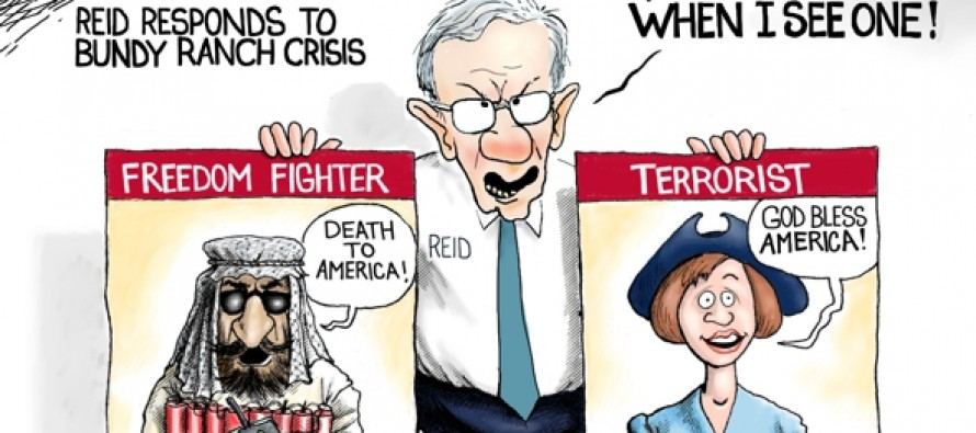 Reid Knows Terrorist (Cartoon)