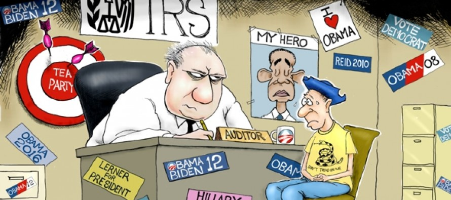 IRS Sticker Shock (Cartoon)