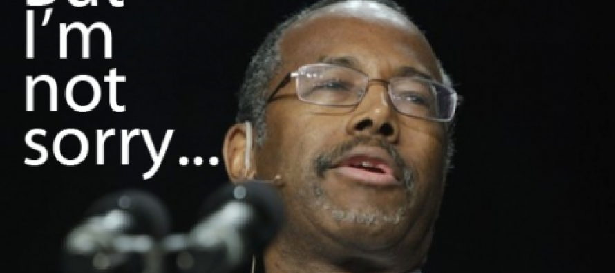 "Ben Carson Says The White House Wanted Him to Apologize for ""Offending"" Obama"
