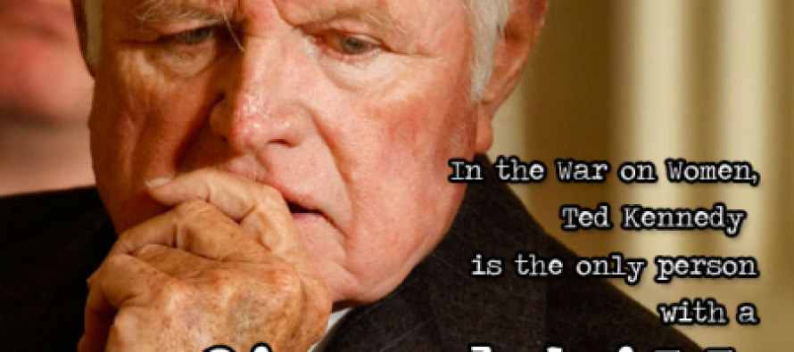 OFA Claims GOP 'War On Women', Sends Out Email Featuring Ted Kennedy – Wait, What?