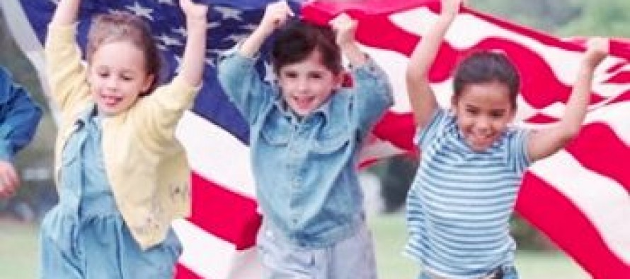VIDEO: This Children's spontaneous rendition of national anthem in movie theater will move you