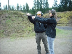 Marcus Carter always kindly lets me shoot his guns no charge at his range.