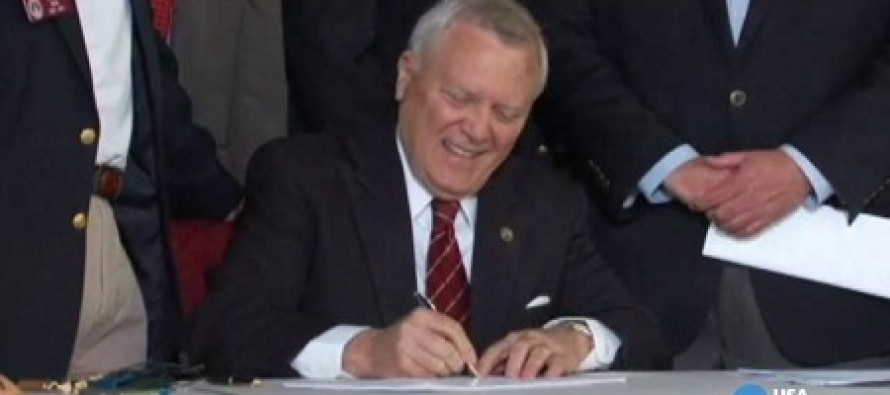 Bill Allowing Guns in Churches, School Zones, and Bars Signed by GA Governor