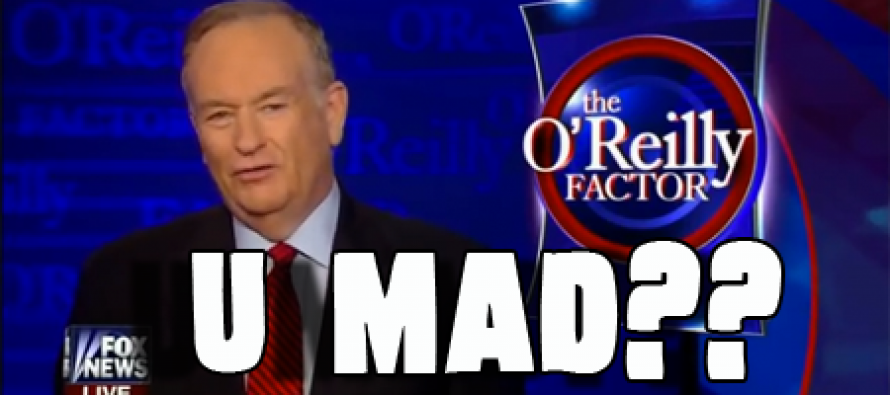 "O'Reilly Dropping Bombs: ""White People Don't Force Black People To Have Babies"" (Video)"