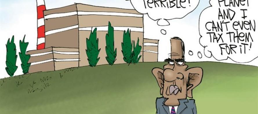 Obama's Burning Babies (Cartoon)