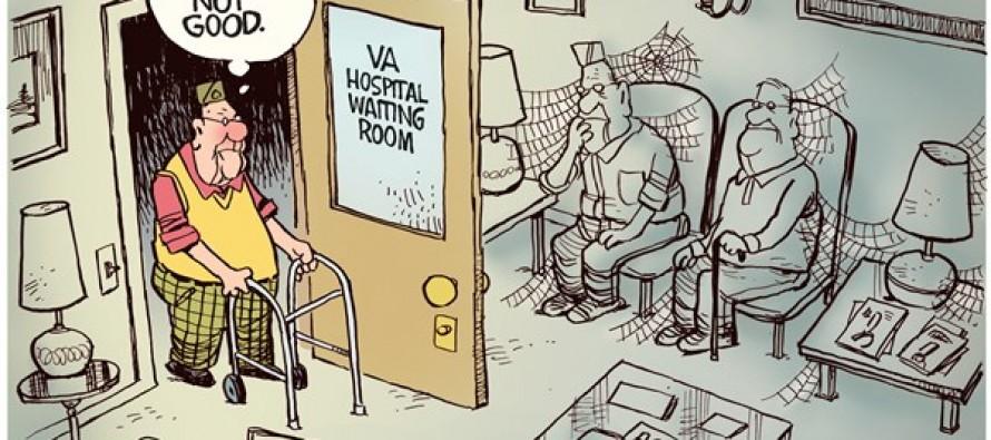 VA Waiting Room (Cartoon)