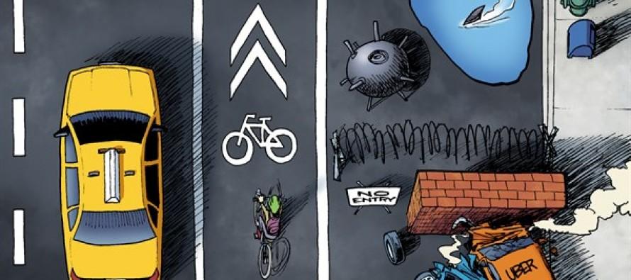 Transportation Competition (Cartoon)