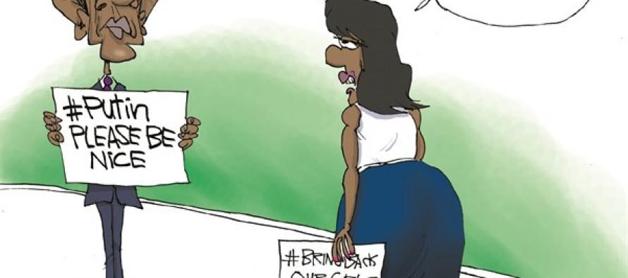 Obama 's Putin (Cartoon)