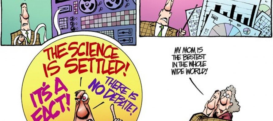 Settled Science (Cartoon)
