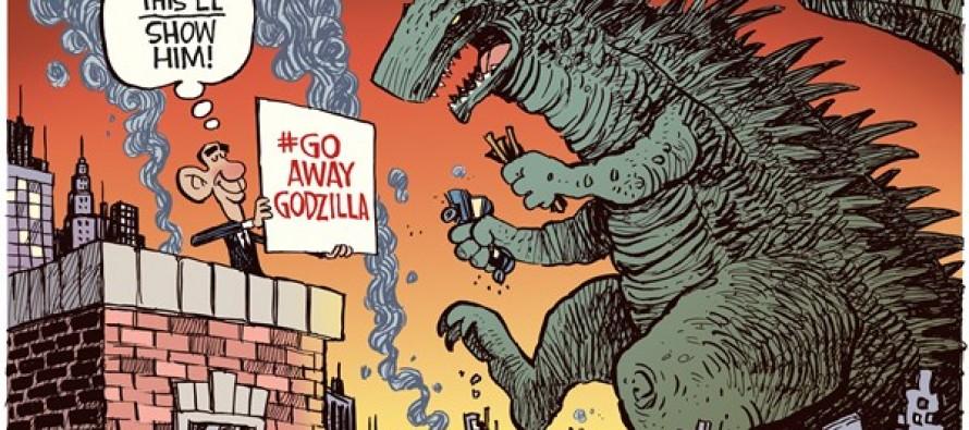 Hashtag Godzilla (Cartoon)