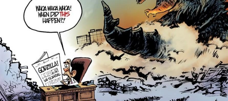 Scandalzilla (Cartoon)