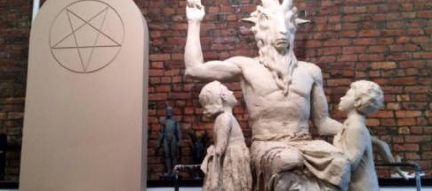A Look at the Satanic Statue to Be Erected at Oklahoma Statehouse