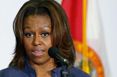 Michelle Obama incredulous