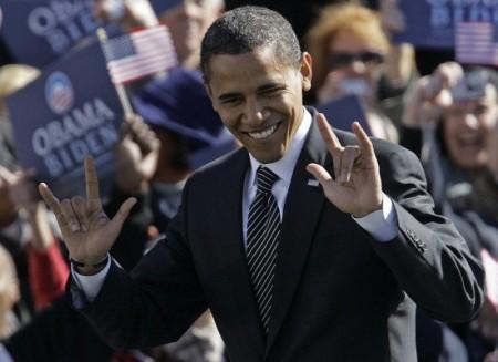 Obama evil horns