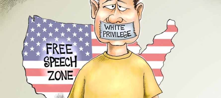 Check Your Free Speech Privilege (Cartoon)