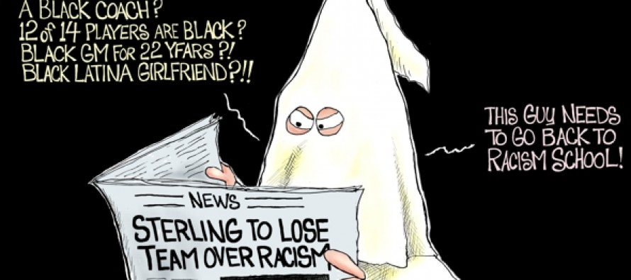 Sterling Racist (Cartoon)