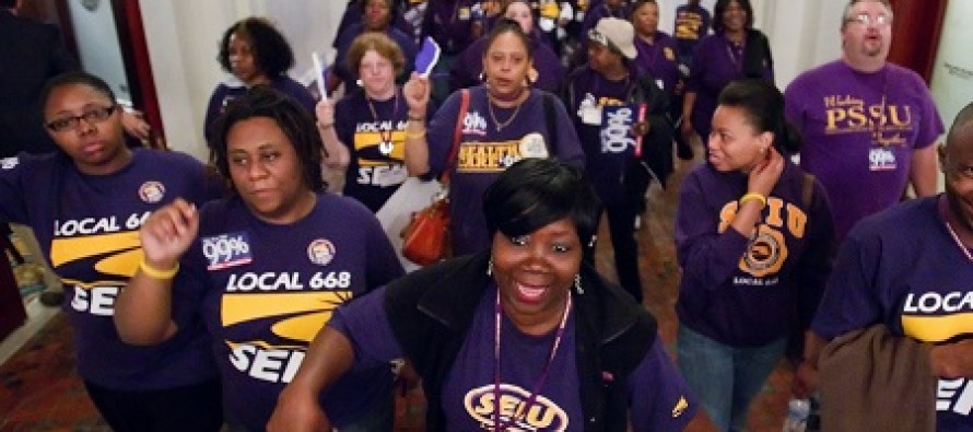 Michigan Ends Forced Unionization, SEIU Membership and Revenues Plummet