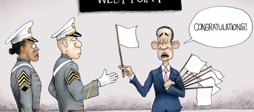 Peace Through Weakness (Cartoon)