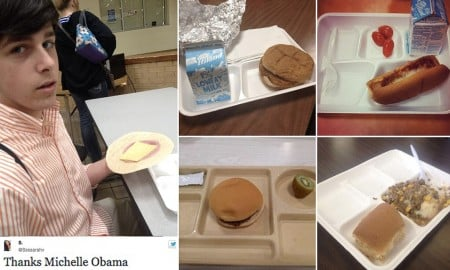 school lunch examples