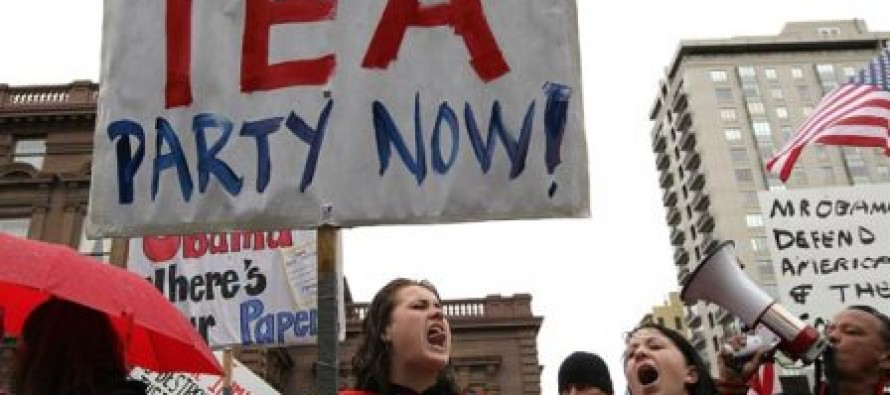House Republicans: 10% of Tea Party Donors Were Audited by IRS