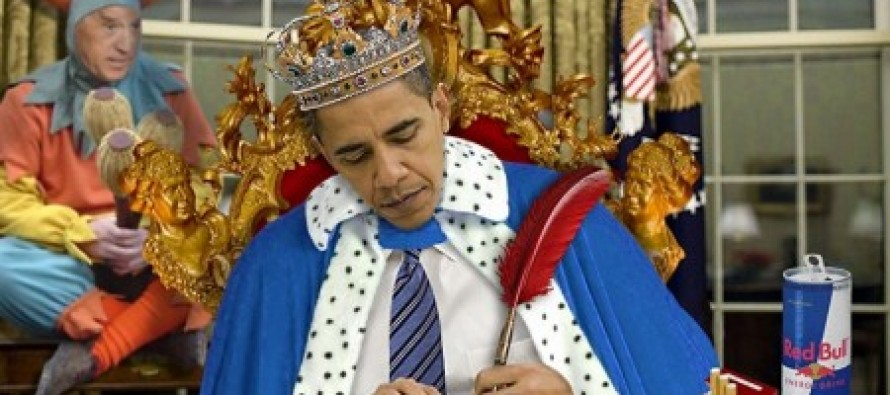 "Law Professor says Obama has ""assumed king-like powers as President"""