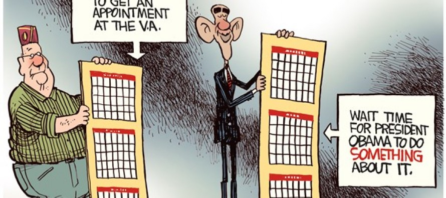 VA Waiting Times (Cartoon)