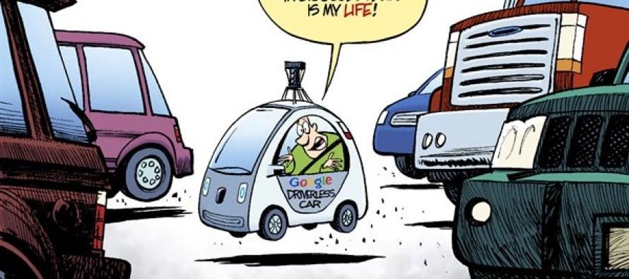 Google Car (Cartoon)