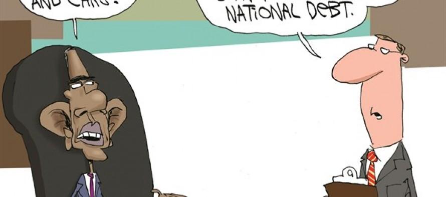 Obama's Student Loan (Cartoon)