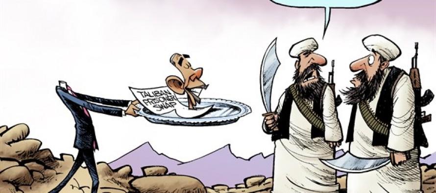 Taliban Swap (Cartoon)