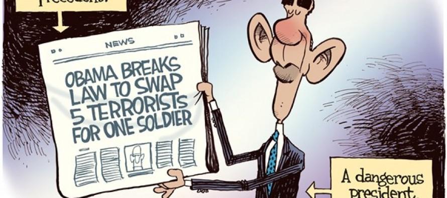 Dangerous President (Cartoon)