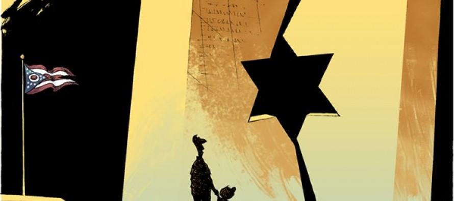 LOCAL OH – Holocaust Memorial (Cartoon)