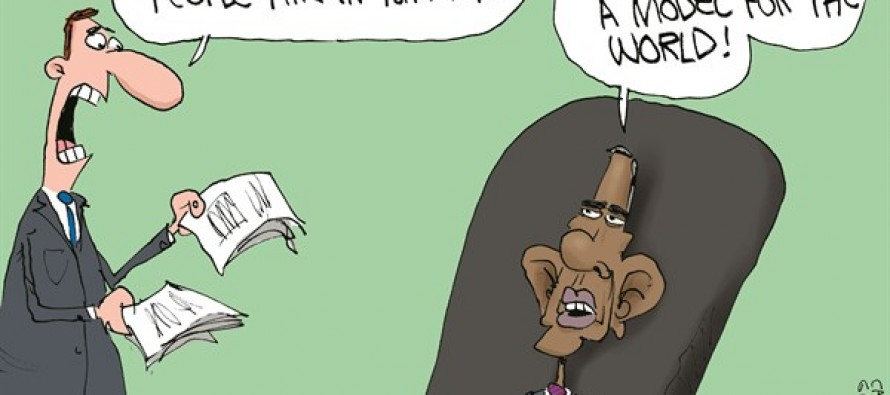 Obama's Iraq (Cartoon)