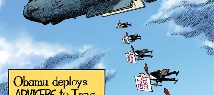 Iraq Advisers (Cartoon)