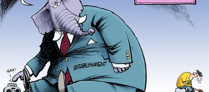 GOP Musical Chairs (cartoon)