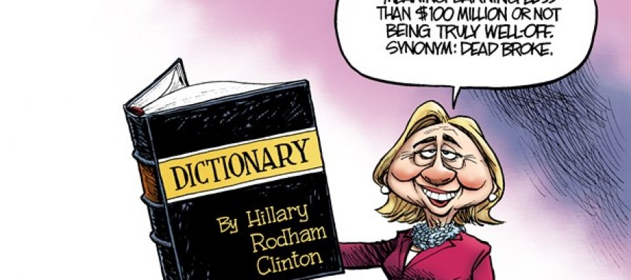 Hillary Book Tour (Cartoon)