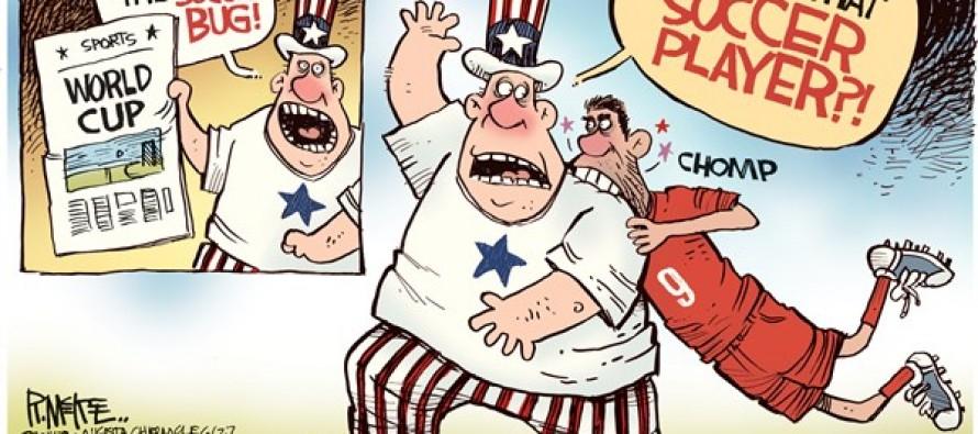 World Cup Biter (Cartoon)