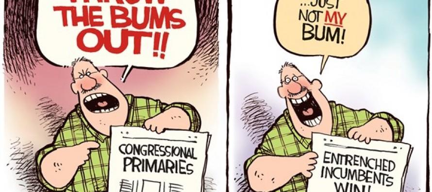 Throw The Bums Out (Cartoon)