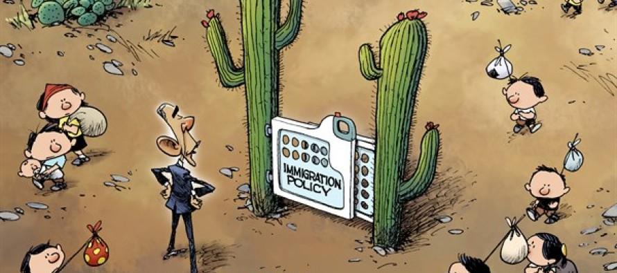 Kids at the Border (cartoon)