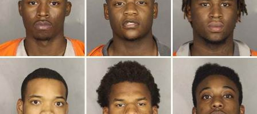 Six Texas Men Face 1,600 Years In Prison Each For 'Gang-Raping' 15-Year-Old High School Student